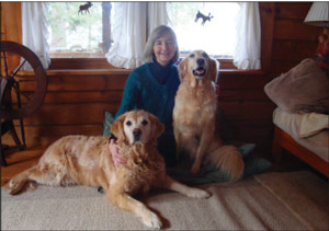 Sue Kenney and the Golden Bookends, Pablo and Lady