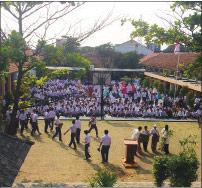 School in Bandung, Indonesia