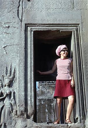 Beth in Cambodia