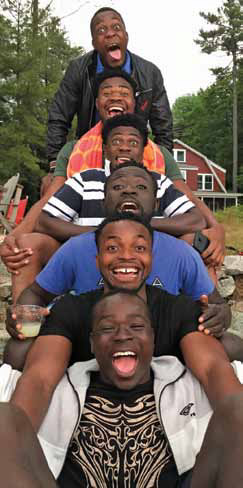 Circus Zambia on Lake Sunapee, summer 2016
