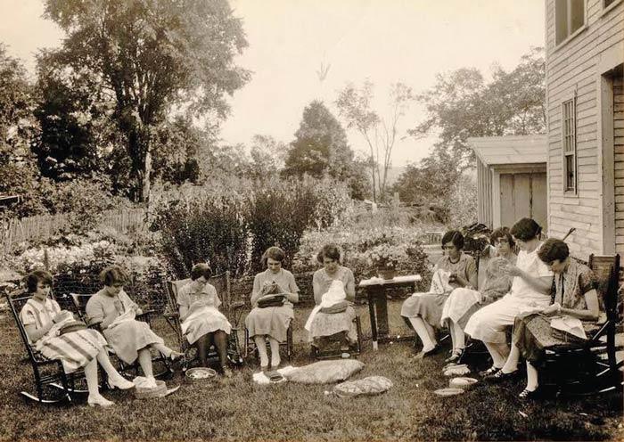 Norwich Women's Club in the early 1940s