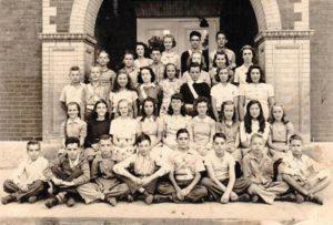Town School in 1941