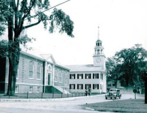 The 'New' Tracy Hall in 1940