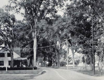 Church Street in 1940