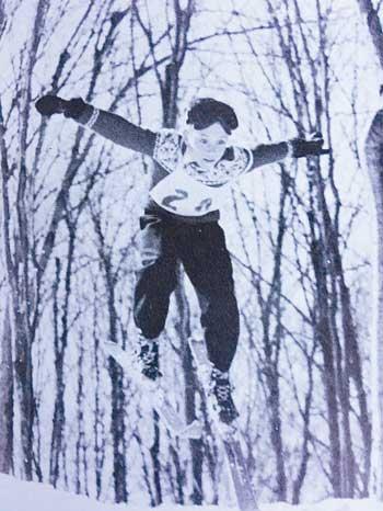 Flying at Sample's Jump