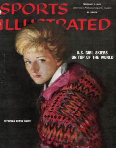 Norwich's Betsy Snite cover of SI 1960