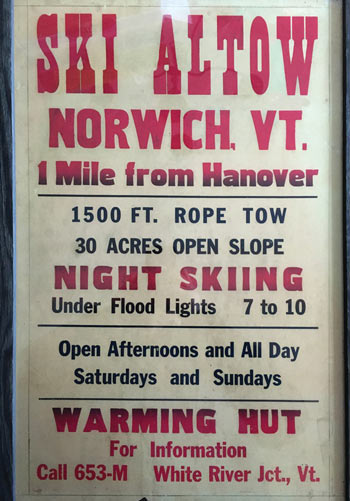 Ski Altow poster