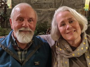 Primary fundraiser Don McCabe and his wife Lisa